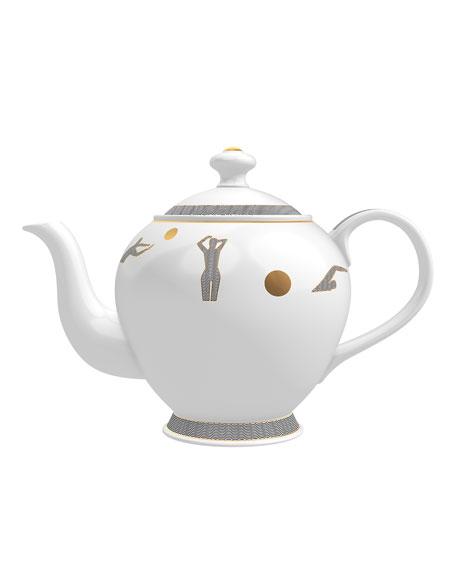 Jasmine from Ilha do Mel Candle in Tea Pot