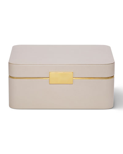 Beauvais Leather Jewelry Box