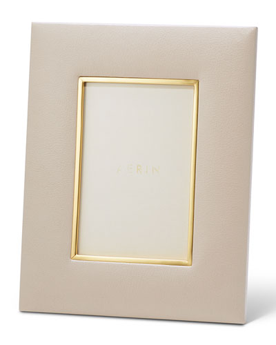 Valentina Leather Picture Frame  4 x 6