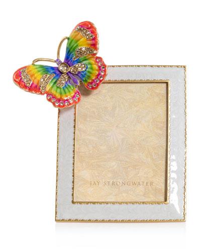 Rainbow Butterfly Frame  3 x 4