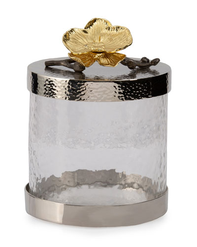 Gold Orchid Extra Small Canister
