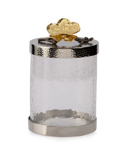 Gold Orchid Medium Canister
