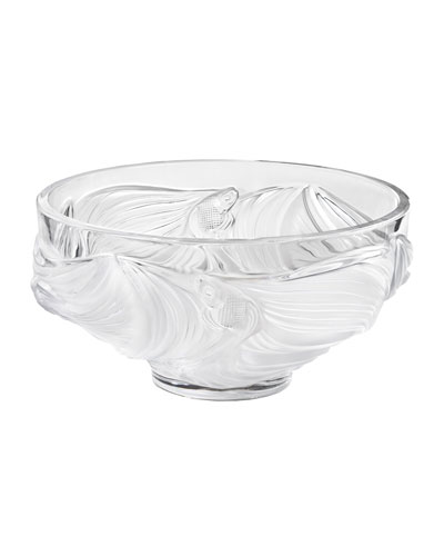 Poissons Bowl  Clear