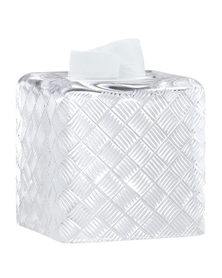 Basket Weave Tissue Box Cover