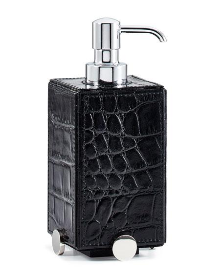 Discus Black Pump Dispenser