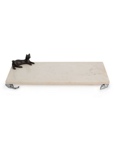 Marble Cat & Mouse Small Cheese Board