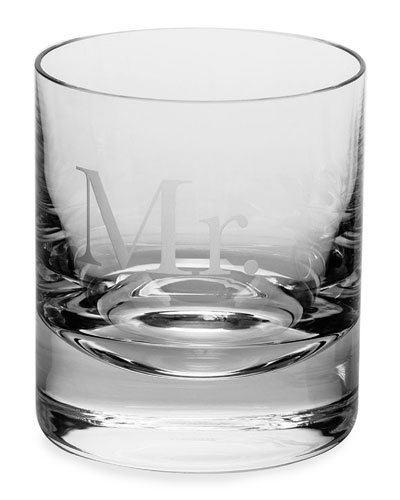 Mr. Whiskey Double Old-Fashioned Glass