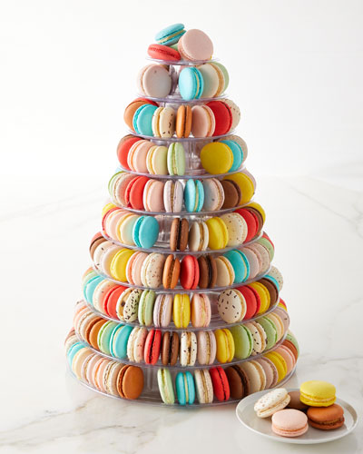 10-Tier Macaron Tower