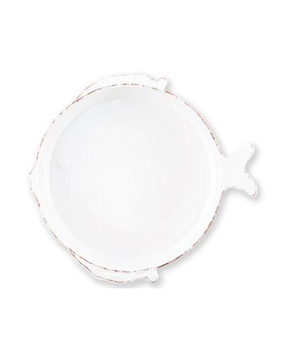 Melamine Lastra Medium Fish Serving Bowl