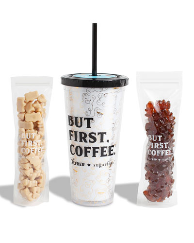 x Alfred But First  Coffee Tumbler