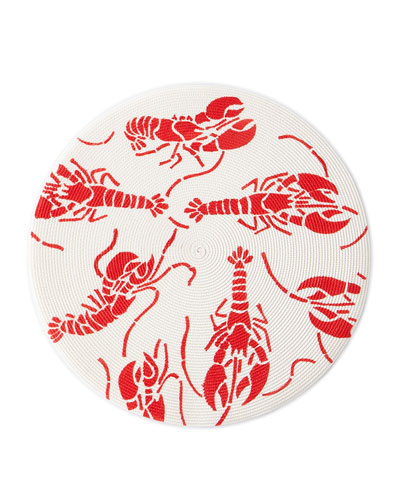 Lobsters Round Placemat