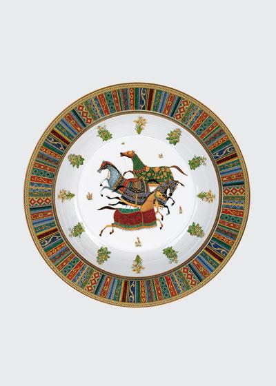 Cheval D'Orient Large Round Deep Platter