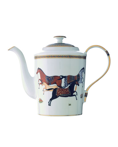 Cheval D'Orient Tea and Coffee Pot