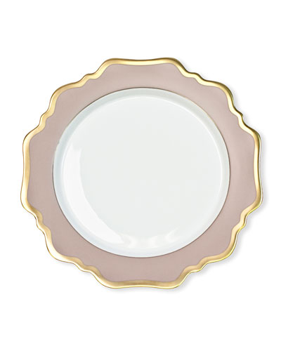 Dusty Rose Salad Plate