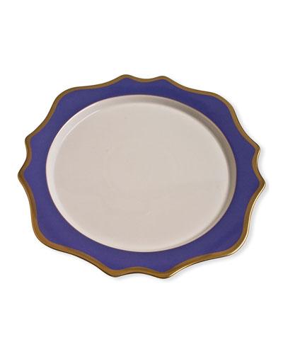 Charger Plate  Indigo