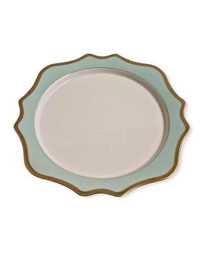 Charger Plate  Green