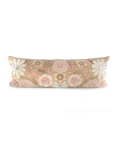 Giulietta Flower Lumbar Pillow