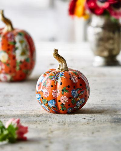 Flower Market Mini Pumpkin