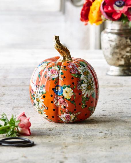 Flower Market Small Pumpkin