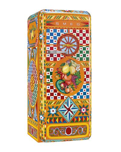 Dolce Gabbana x SMEG Carretto Refrigerator