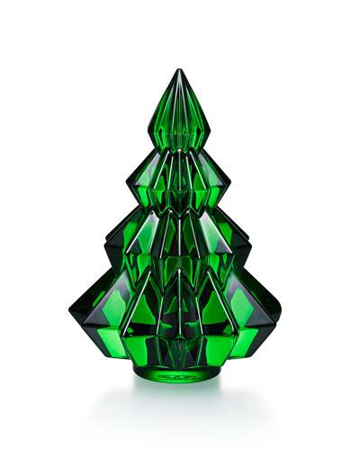 Aspen Christmas Tree Figurine  Green