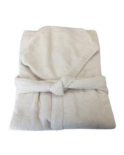 Gold New Hooded Bathrobe - Size XXL