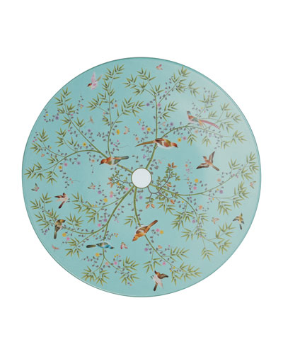 Paradis Turquoise Buffet Plate