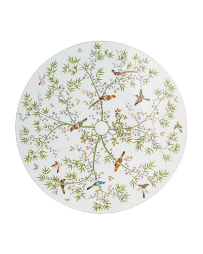 Paradis White Buffet Plate