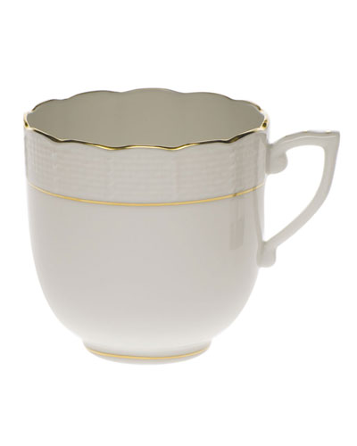 Golden Edge Mocha Cup