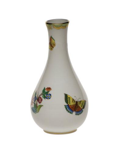 Queen Victoria Green Vase
