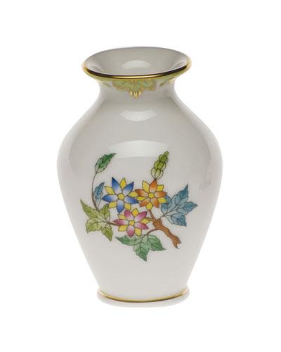 Queen Victoria Green Small Bud Vase