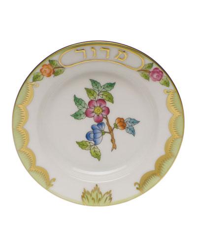 Queen Victoria Green Small Maror Seder Bowl