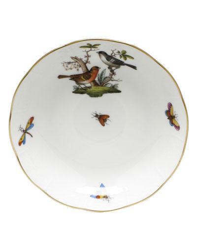 Rothschild Bird Motif 05 Mocha Saucer