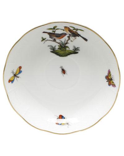 Rothschild Bird Motif 09 Mocha Saucer