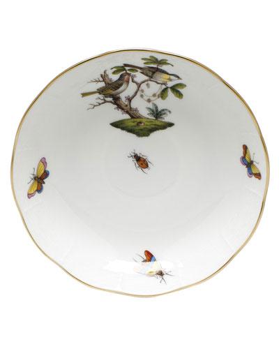 Rothschild Bird Motif 11 Mocha Saucer