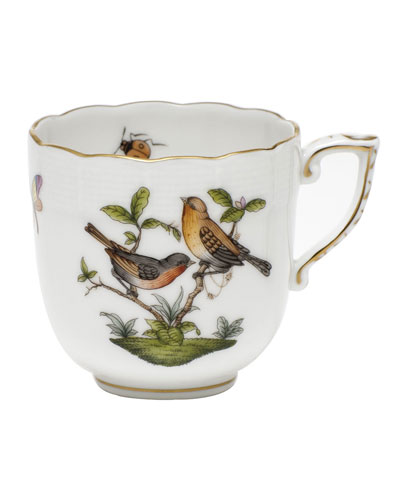 Rothschild Bird Motif 09 Mocha Cup