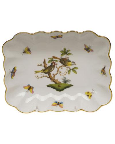 Rothschild Bird Oblong Dish