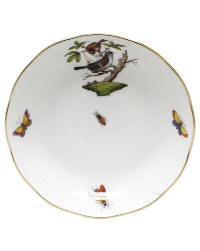 Rothschild Bird Motif 04 Mocha Saucer
