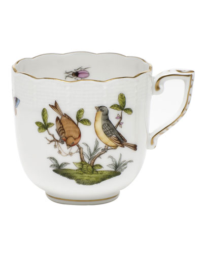 Rothschild Bird Motif 07 Mocha Cup
