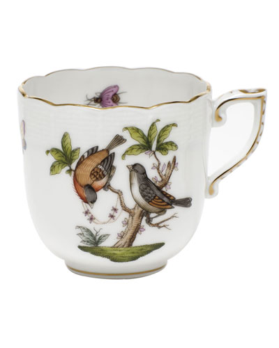Rothschild Bird Motif 12 Mocha Cup