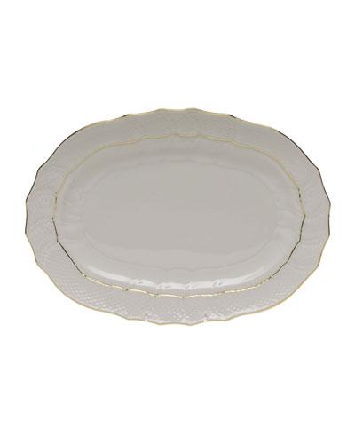 Golden Edge Platter
