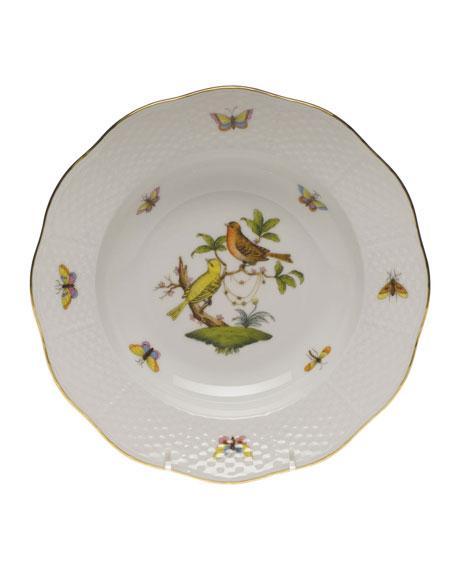 Rothschild Bird Motif 6 Rim Soup Plate