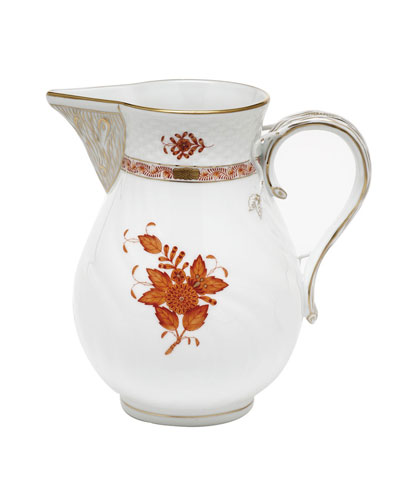 Chinese Boutique Rust Pitcher