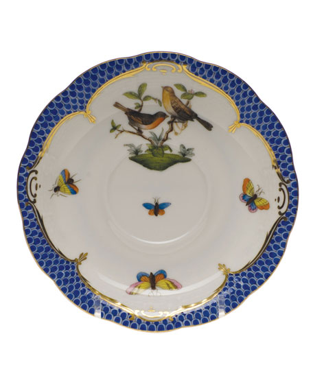 Rothschild Blue Motif 09 Tea Saucer