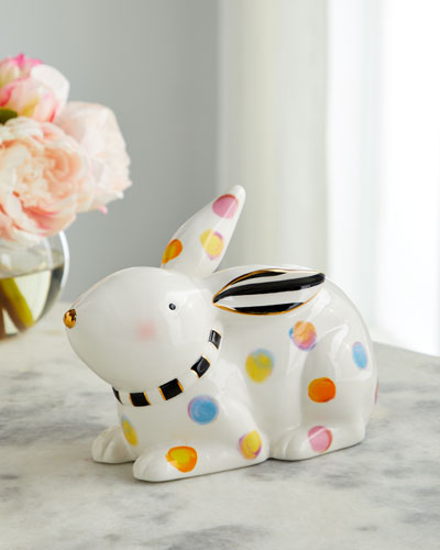 Dotty Bunny Decor