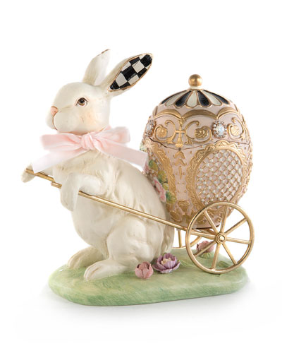 Macaron Bunny Carriage