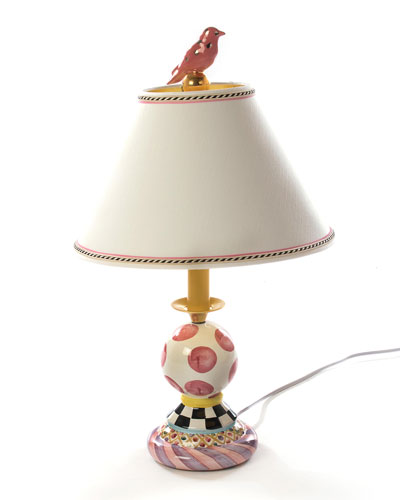 Super Pink Bulbous Lamp