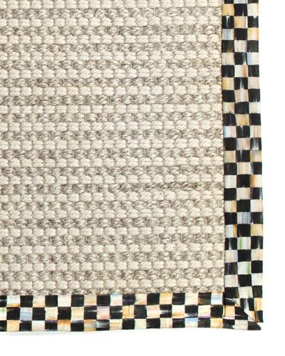 Cable Wool & Sisal Rug, 6' x 9'