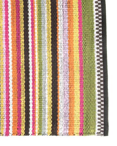Think Pink Stripe Rug, 2' x 3'