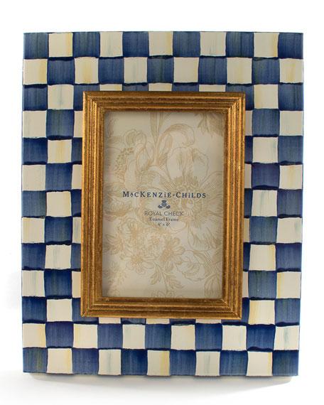 "Royal Check Frame, 4"" x 6"""